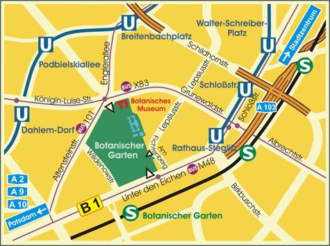 BGBM: Verkehrsverbindung / Transportation
